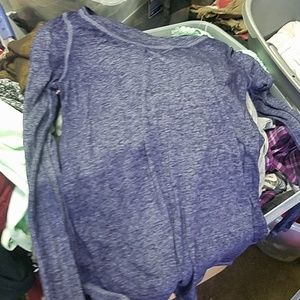 Euc mudd sheer long sleeved shirt